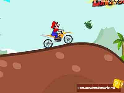 Jeux De Mario De Moto Dans Les îles