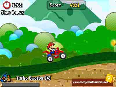 Mario met le turbo